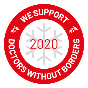 We support Doctors Without Borders